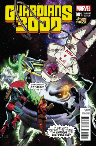 Guardians 3000 #1 (Deadpool Cover)