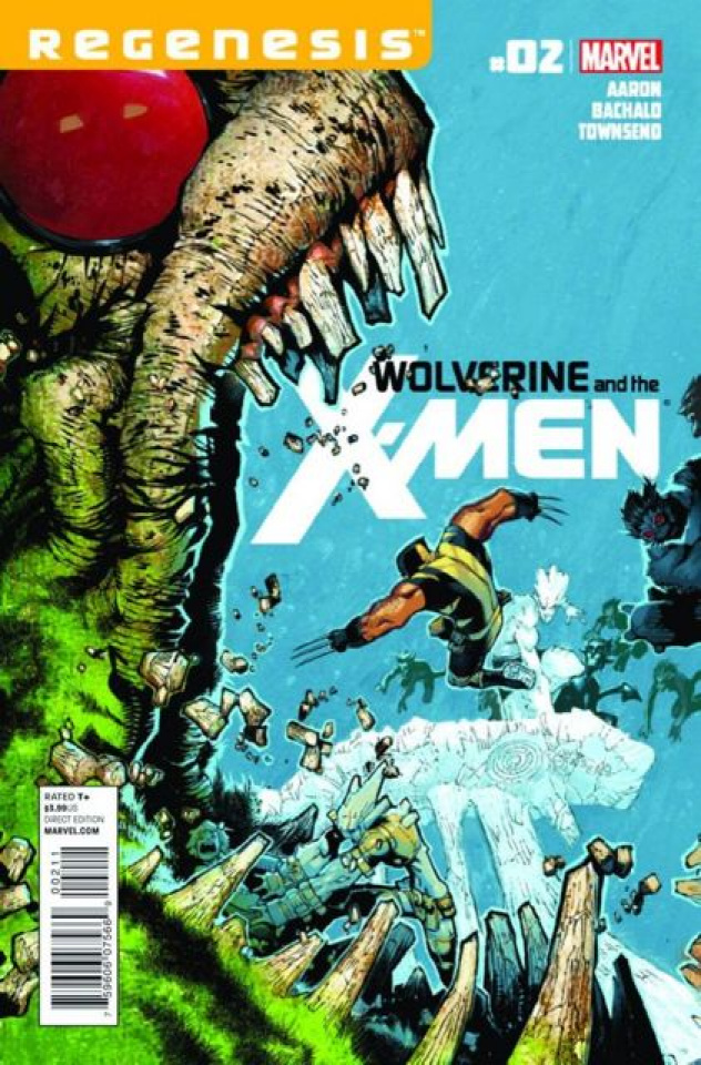 Wolverine and the X-Men #2 (2nd Printing)