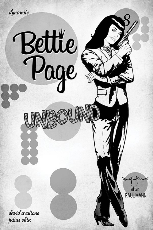 Bettie Page: Unbound #8 (40 Copy Qualano Virgin Cover)