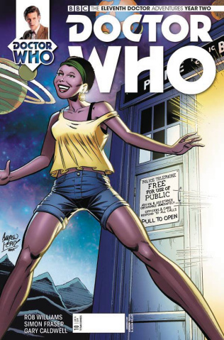 Doctor Who: New Adventures with the Eleventh Doctor, Year Two #10 (Cover C)