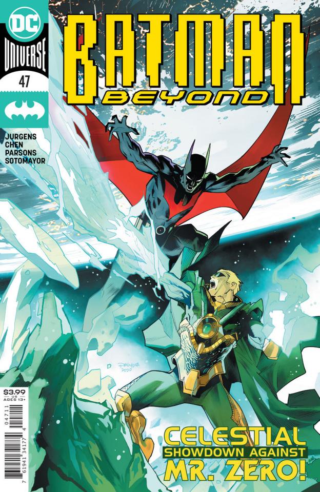 Batman Beyond #47 (Dan Mora Cover)