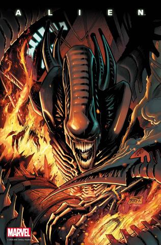 Alien #7 (Sandoval Cover)
