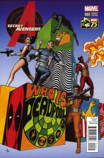Secret Avengers #9 (Deadpool Cover)