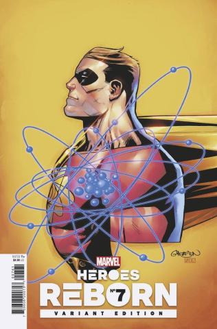 Heroes Reborn #7 (Gleason Cover)