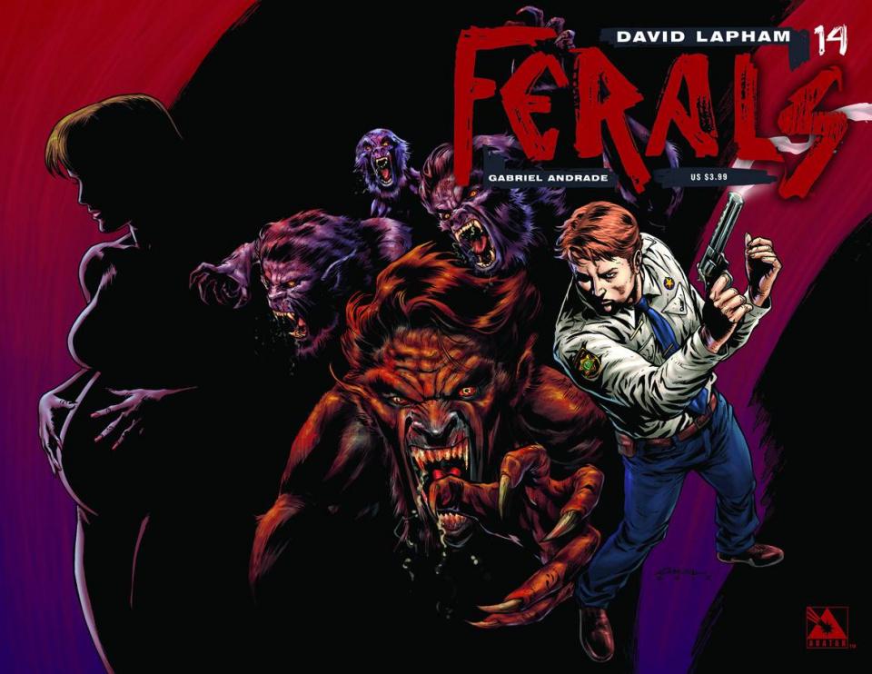 Ferals #14 (Wrap Cover)