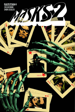 Masks 2 #2 (Guice Cover)