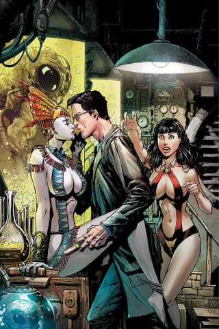 Vampirella vs. Reanimator #2 (40 Copy Desjardins Virgin Cover)