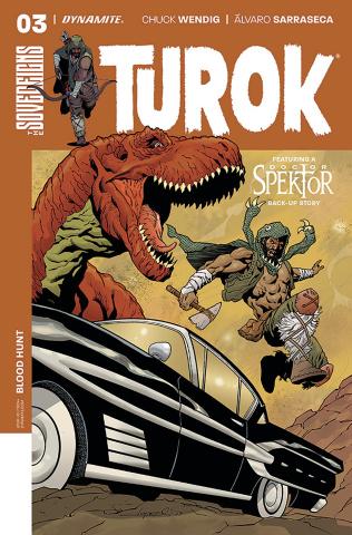 Turok #3 (Lopresti Cover)