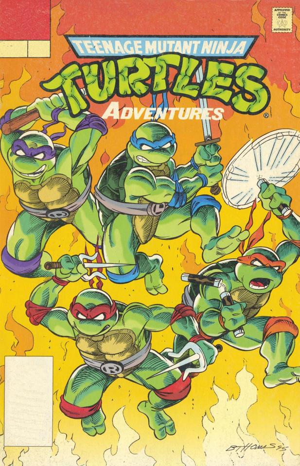Teenage Mutant Ninja Turtles Adventures Vol. 16