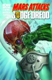 Mars Attacks Judge Dredd #3