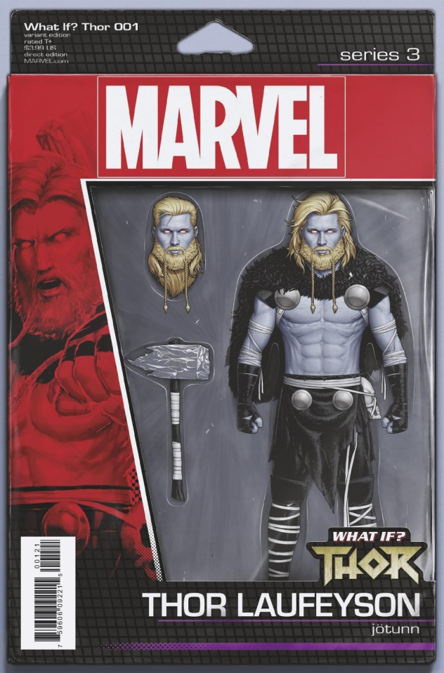 What If? Thor #1 (Christopher Action Figure Cover)
