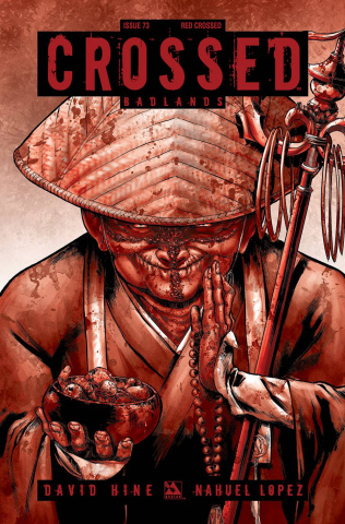 Crossed: Badlands #73 (Red Crossed Cover)
