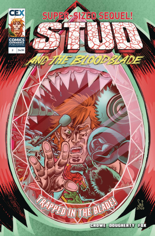Stud and the Bloodblade #2 (Dougherty Cover)