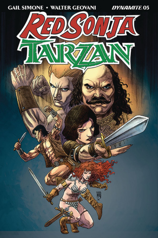 Red Sonja / Tarzan #5 (Geovani Cover)