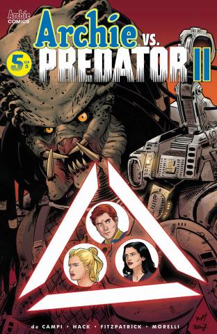 Archie vs. Predator II #5 (Torres Cover)