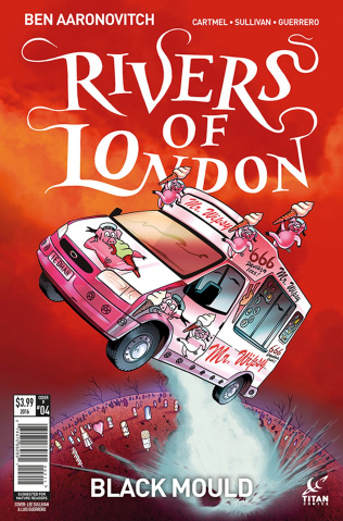 Rivers of London: Black Mould #4 (Sullivan Cover)