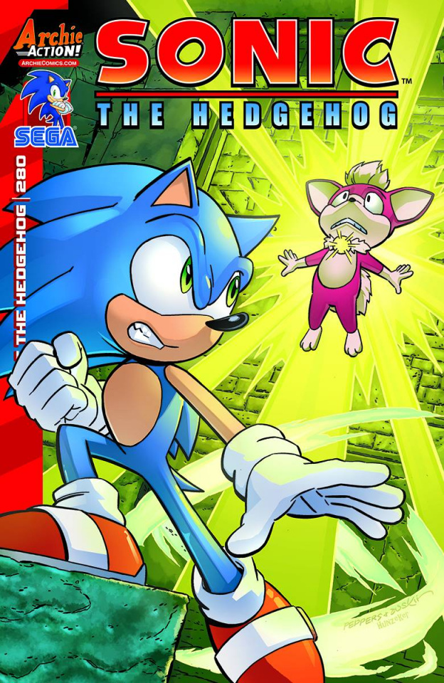Sonic the Hedgehog #280 (Peppers Cover)