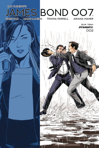 James Bond: 007 #2 (Laming Cover)