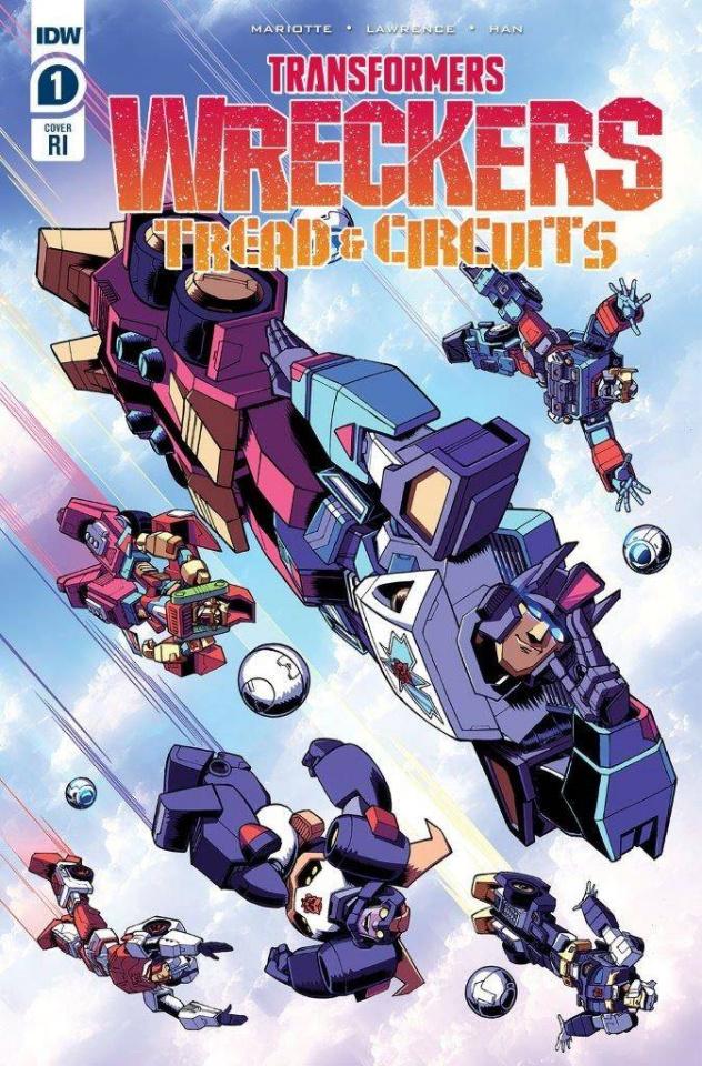 Transformers: Wreckers - Tread & Circuits #1 (10 Copy Cover)