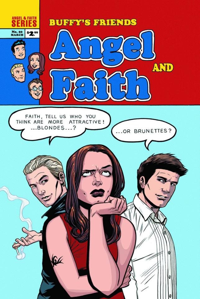 Angel & Faith #20 (Isaacs Cover)