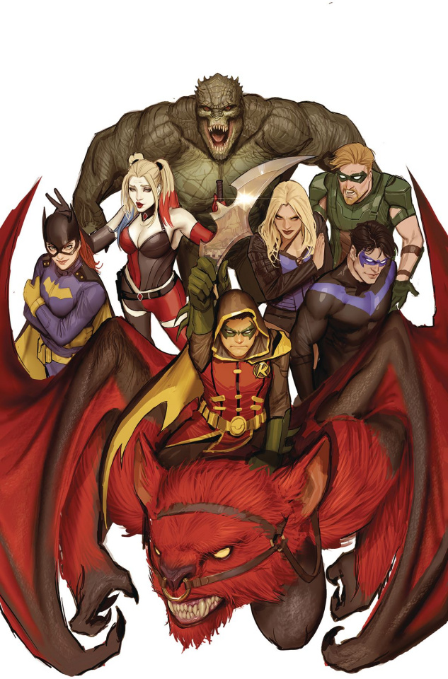 Teen Titans #12 (Metal)