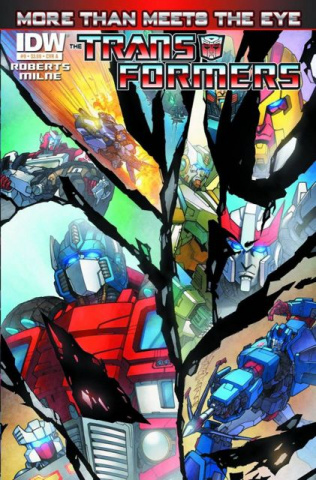 The Transformers: More Than Meets the Eye #9
