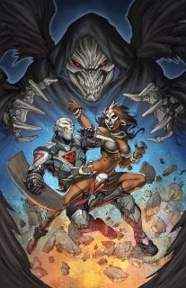 Death Force #6 (Pantalena Cover)