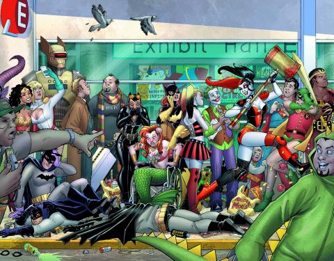 Harley Quinn Invades Comic Con Intl. San Diego #1