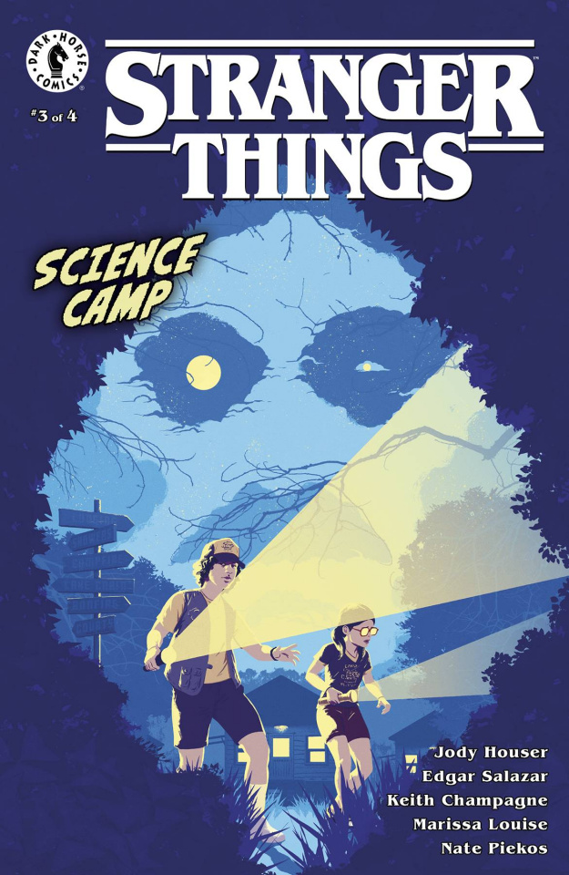 Stranger Things: Science Camp #3 (Allen Cover)