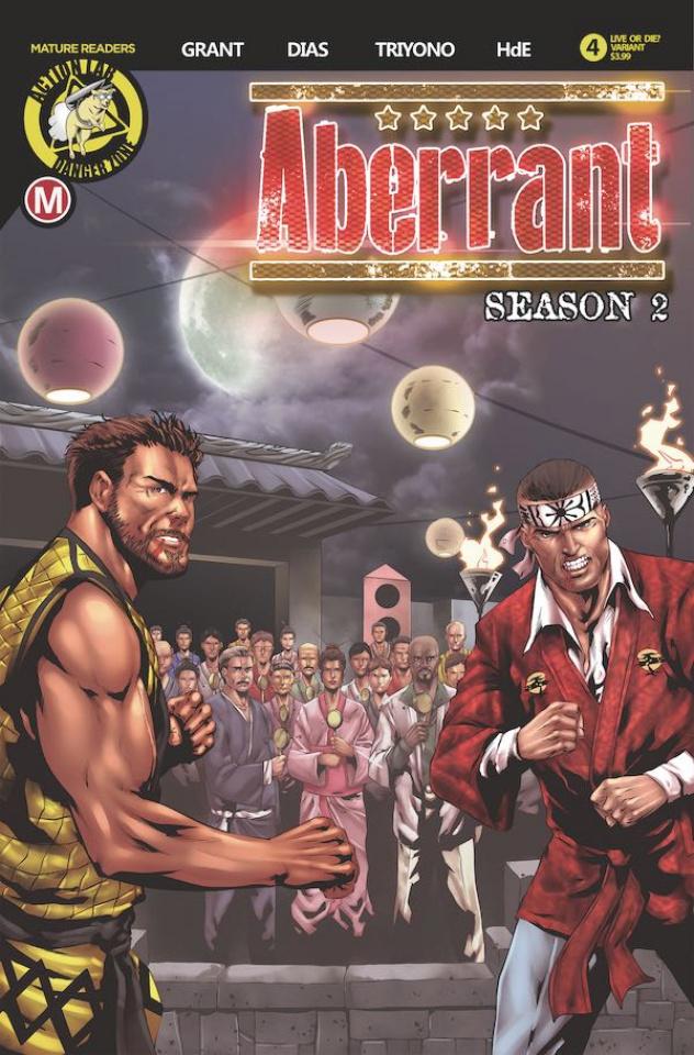 Aberrant, Season 2 #4 (Leon Dias Cover)