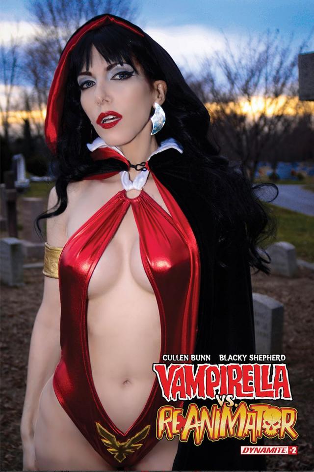 Vampirella vs. Reanimator #2 (Cosplay Cover)