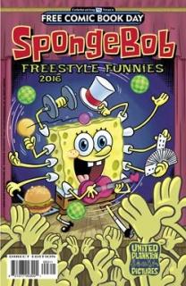 Spongebob Comics Freestyle Funnies (FCBD 2016 Edition)