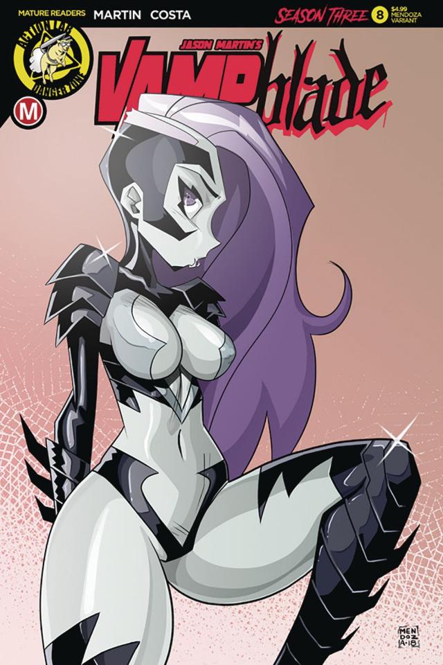 Vampblade, Season Three #8 (Mendoza Cover)
