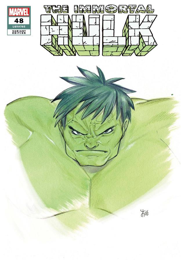 The Immortal Hulk #48 (Momoko Marvel Anime Cover)