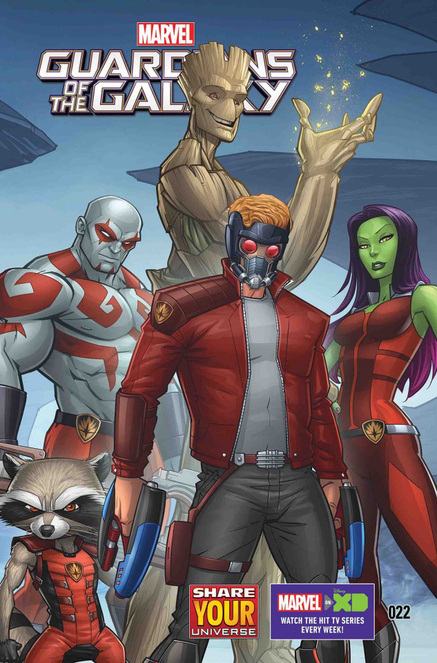 Marvel Universe: Guardians of the Galaxy #22