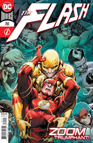 The Flash #761 (Howard Porter Cover)