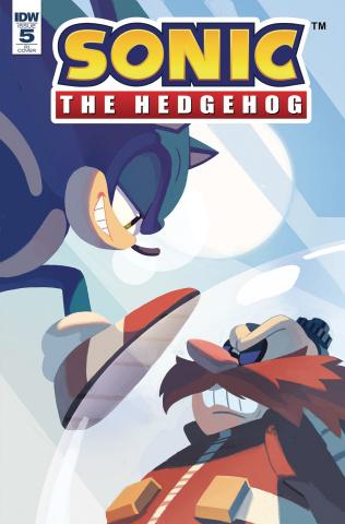 Sonic the Hedgehog #5 (10 Copy Cover)