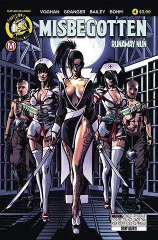 Misbegotten Runaway Nun #4 (Case Cover)