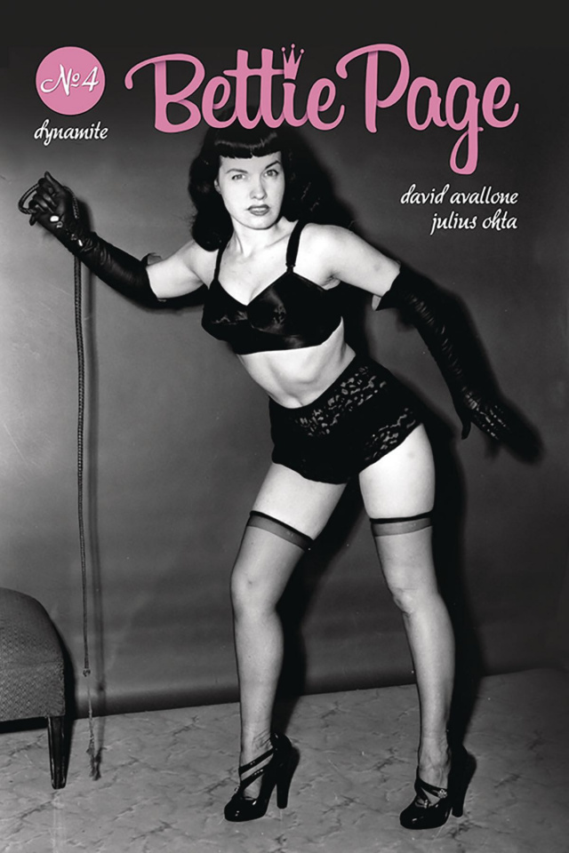 Bettie Page #4 (Photo Cover)