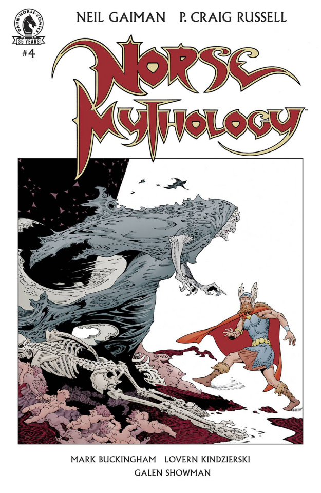 Norse Mythology II #4 (Russell Cover)