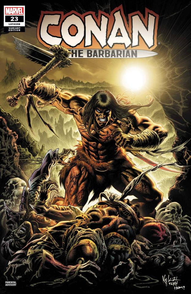 Conan the Barbarian #23 (Hotz Cover)
