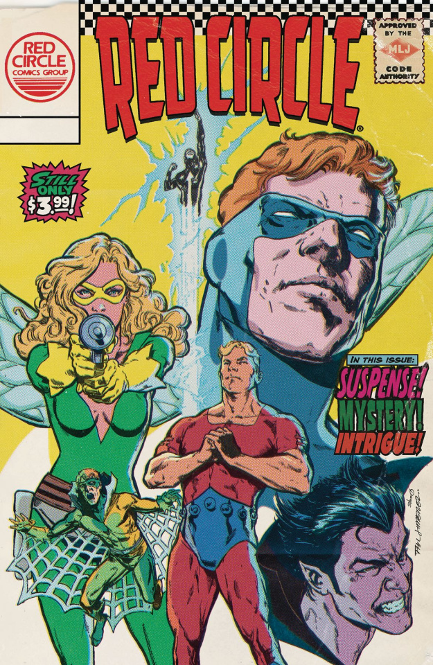 The Mighty Crusaders #4 (Throwback Cover)