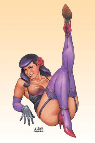 Bettie Page #3 (Linsner Virgin Cover)