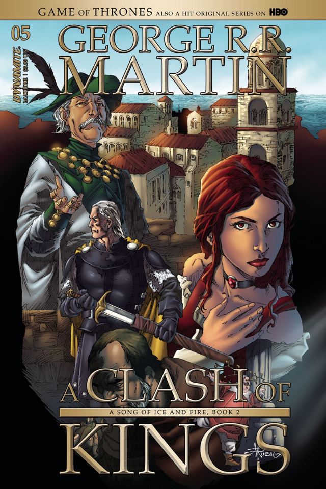 A Game of Thrones: A Clash of Kings #5 (Rubi Cover)