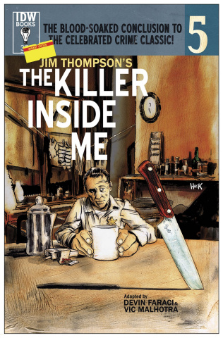 The Killer Inside Me #5 (Subscription Cover)