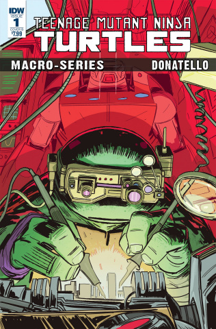 Teenage Mutant Ninja Turtles Macro-Series #1: Donatello (Brown Cover)