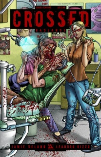 Crossed: Badlands #8 (Torture Cover)