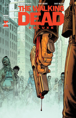 The Walking Dead Deluxe #4 (Moore & McCaig Cover)