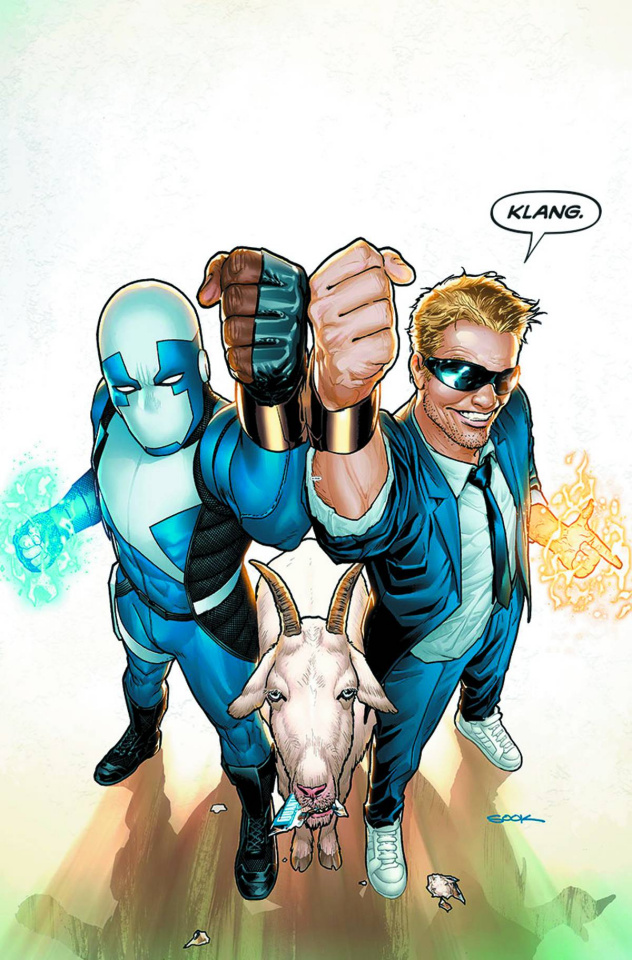 Quantum & Woody #1 (Sook Cover)