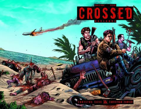 Crossed: Badlands #31 (Wrap Cover)